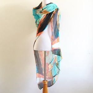 Art Simply by Dolcezza Scarf Wrap Shawl Cover Up